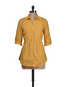 Yellow Comfortable Shirt - Dame