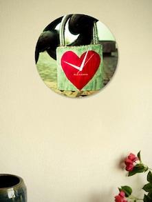 Blacksmith Lock in Heart Clock - BLACKSMITH