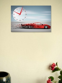 Sports Car Wall Clock - BLACKSMITH