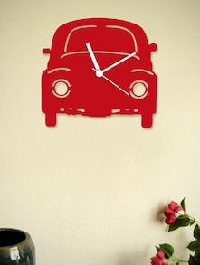 Black Vintage Car Wall Clock - BLACKSMITH