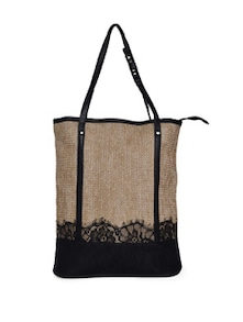 Spacious Jute Handbag - STREET 9