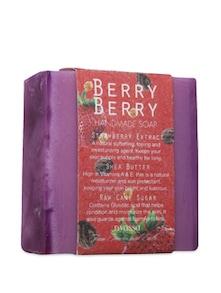 Berry Berry Handmade Sugar Soap - NYASSA