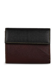 Leather Black Wallet - Oleva