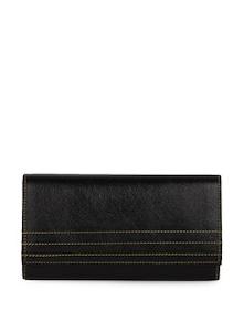 Black Leather Wallet - Oleva