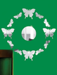 Surrounding Butterflies 3D Mirror Sticker - Zeeshaan