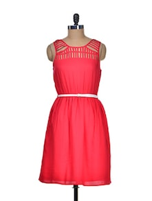 Dare In Red Summer Dress - Mishka
