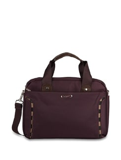 "11"" Purple 'Hang Out' Laptop Bag - ALESSIA"