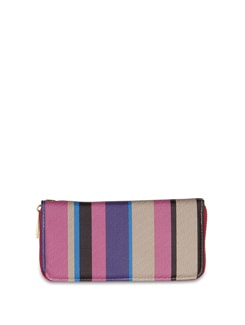 Stylish Striped Wallet - ALESSIA 6774