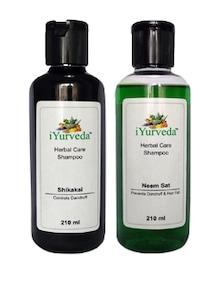 Neem Sat Shampoo & Shikakai Shampoo - Pack Of 2 - IYurveda