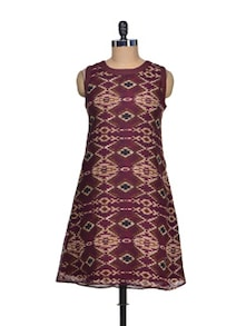 Ethnic Print Dress - QUEST