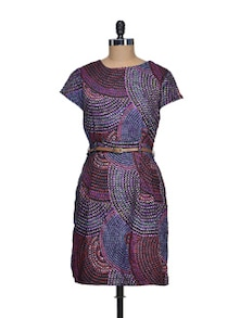 Modish Print Dress - QUEST