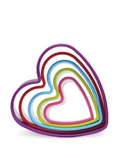 Plastic Heart Design Cookie Cutter - Kitchen Craft(UK)