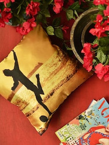 Sunset Soccer Cushion Cover - Yolo By Spread