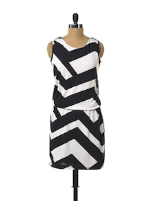 Black And White Dress - Color Cocktail