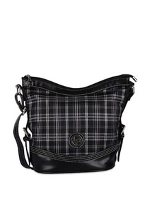 Bravo Black Faux Leather Bag - Lino Perros