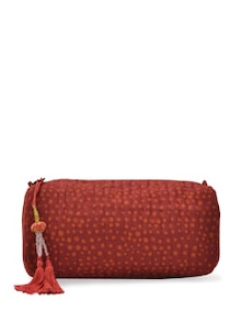 Multipurpose Maroon Ethnic Bag - ETHNIC