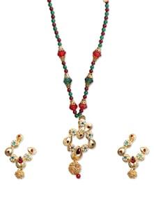 Multicolour Necklace Set - KSHITIJ