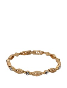 Gold Plated Pretty Bracelet - KSHITIJ