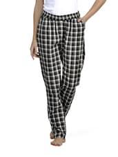 Checkered Black And White Pajamas - Mind The Gap
