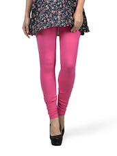 Candy Pink Leggings - Mind The Gap