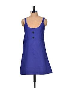 Navy Blue Dress - Delhi Seven