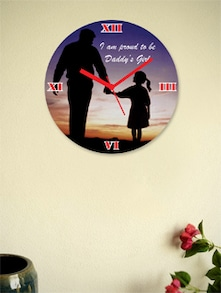 Proud To Be Daddy's Girl Wall Clock - Zeeshaan
