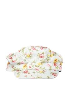 Cute White Floral Cap - Addons