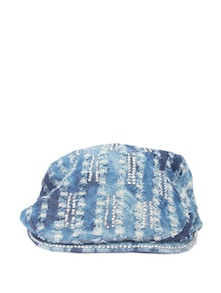 Hand Embroidered Blue Cap - Addons