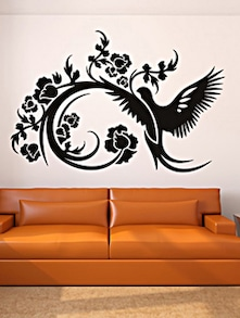 Bird Design Wall Sticker