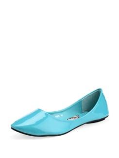Bright Blue Ballet Flats - Carlton London