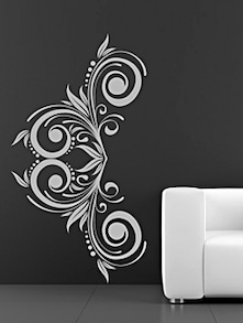 Attractive White Sticker - DeStudio