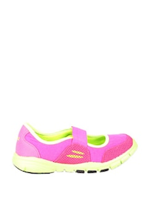Fuschia and Lime Ballerina Style Sports Shoes - STEPpings