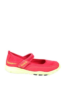 Red Ballerina Style Sports Shoes - STEPpings