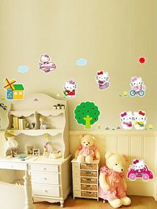 Hello Kitty Wall Decal - Uberlyfe