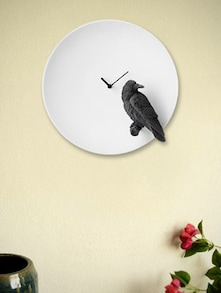 Raven By The Moon Glow Wall Clock - Haoshi
