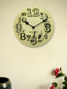 Cream London Vintage Number Wall Clock - Kairos