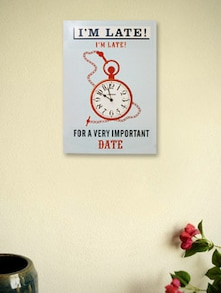 I'm Late For A Date Wall Clock - Kairos
