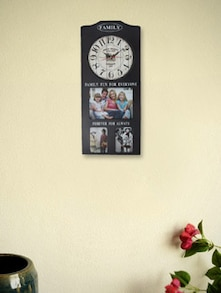 Family Album Wall Clock Black - Kairos