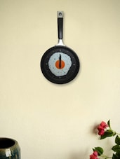 Funky Frying Pan Wall Clock - Kairos