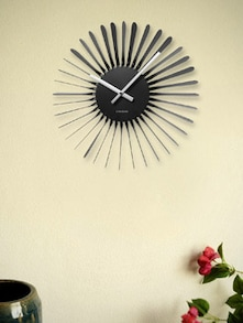 Exotic Grey Wall Clock