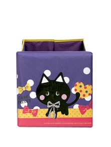 Kids Purple Cat Storage Bin(Medium) - Uberlyfe