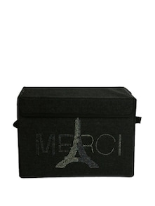 Kids Storage Box With Eiffel Tower Graphic  (Medium) - Uberlyfe