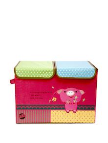 Multicoloured Kids Toy Organizer- Double Flap (Large) - Uberlyfe
