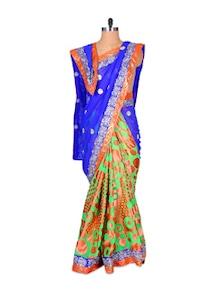Colour Colossal Chiffon Saree - Fabdeal