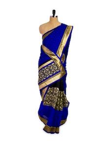 Royal Blue Saree - Pothys