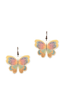 Beautiful Butterfly Motif Earrings - CIRCUZZ