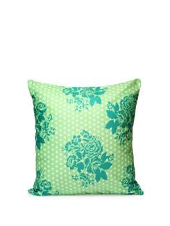 Polka Flowers Cushion Cover - India Circus