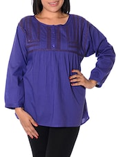 Purple Cotton Top - URBAN RELIGION