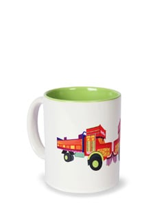 Jalebi Face To Face/Truck Load Ceramic Coffee Mug - India Circus