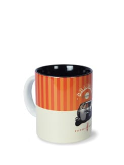 Jalebi Auto - Rickshaw Fun Ceramic Coffee Mug - India Circus